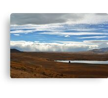Wall of Cloud Canvas Print