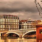 Lyon, Rhône river by Antti Andersson