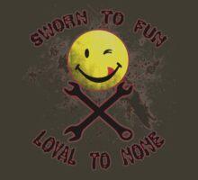 Sworn to Fun, Loyal to None Mechanic by galacticrad