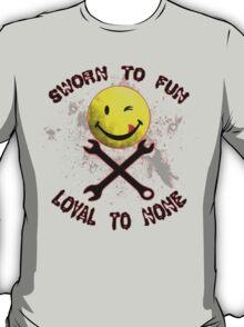 Sworn to Fun, Loyal to None Mechanic T-Shirt