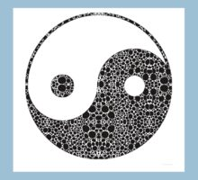 Perfect Balance 1 - Yin and Yang Stone Rock'd Art by Sharon Cummings Kids Clothes