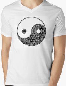 Perfect Balance 1 - Yin and Yang Stone Rock'd Art by Sharon Cummings Mens V-Neck T-Shirt
