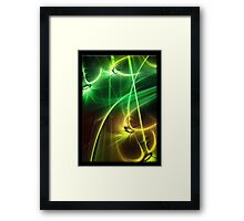 ©DA FS Yellow Mood IA 3 X4 M. Framed Print