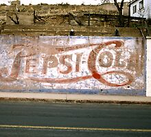 Pepsi Sign, Bisbee, Arizona by Stephen D. Miller