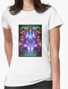 Energy #4 Womens Fitted T-Shirt