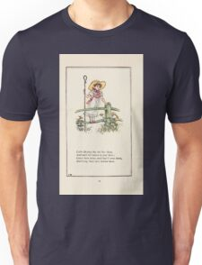 Mother Goose or the Old Nursery Rhymes by Kate Greenaway 1881 0028 Little Bo Peep Unisex T-Shirt