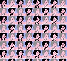 Lana Parrilla Pop Art Recolouring by emilyplusfandom