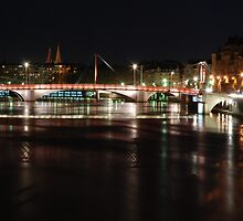 Lyon by night #6 by Antti Andersson