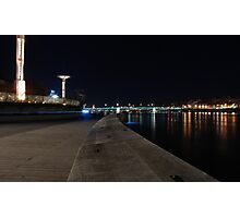 Lyon by night #9 Photographic Print