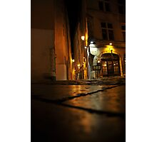 Lyon by night #13 Photographic Print