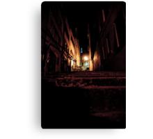 Lyon by night #14 Canvas Print