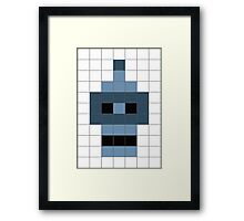 Bender's Graffiti Mosaic Framed Print