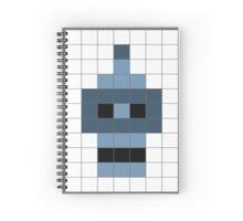 Bender's Graffiti Mosaic Spiral Notebook