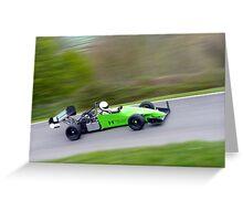 Prescott Speed Hill Climb - Nemesis HC92, Honda, 600cc Greeting Card