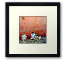 Life stuff Framed Print