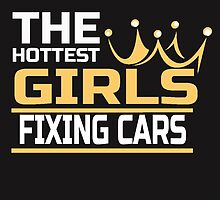 THE HOTTEST GIRLS FIXING CARS by dynamictees