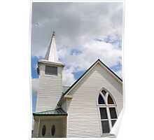 Route 66 Methodist Church Steeple Poster