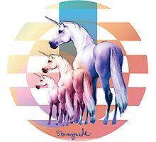 Perfect Unicorns Photographic Print
