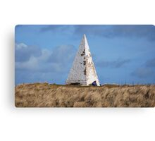 White Pyramid at Emanuel Head Canvas Print