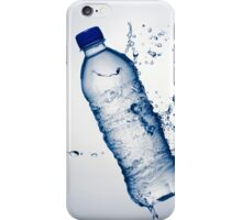Bottle Water and Splash iPhone Case/Skin