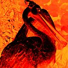 fire pelican by Cliffyj