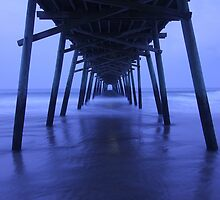 Pier After Dark by JGetsinger