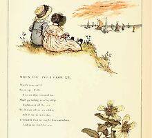 Marigold Garden Pictures and Rhymes Kate Grenaway 1900 0020 When You and I Grow Up by wetdryvac