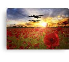 The Lancasters  Canvas Print