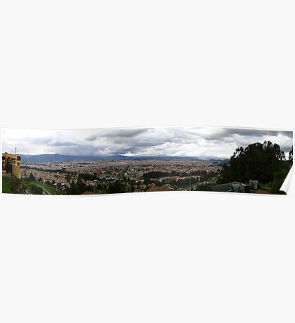 Cuenca, Ecuador Panorama Poster