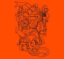 Never Cross (b) Kids Tee