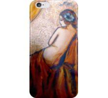 bare shoulders iPhone Case/Skin