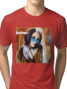 Warpaint by Tim Miklos Tri-blend T-Shirt