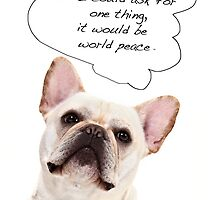 My Wish Is For World Peace! by susan stone