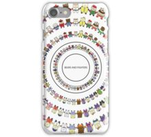 BEARS and FIGHTERS - Friends iPhone Case/Skin