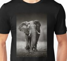 Elephant approach from front Unisex T-Shirt