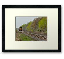 Long Train Runnin' Framed Print