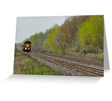 Long Train Runnin' Greeting Card