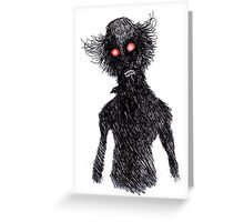 The Dark Stranger Greeting Card