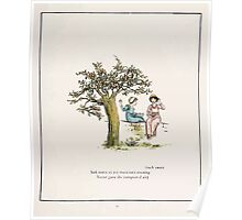 The Pied Piper of Hamlin Robert Browning art Kate Greenaway 0030 Such Sweet Notes Poster