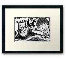 Slam Dunk Social Justice Framed Print