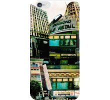 Los Angeles Downtown Jewelry District Buildings iPhone Case/Skin