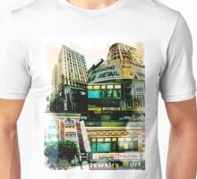 Los Angeles Downtown Jewelry District Buildings Unisex T-Shirt