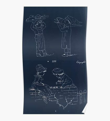 Briggs & Company Patent Transferring Papers Kate Greenaway 1886 0222 Inverted Poster