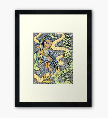 Nefera De Nile Framed Print