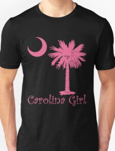 Pink Carolina Girl Palmetto Moon Unisex T-Shirt