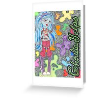 Ghoulia Yelps Greeting Card
