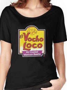 El Vocho Loco (Parody Logo) Women's Relaxed Fit T-Shirt