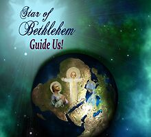 Star of Bethlehem Greeting Card  by CatholiCARDS