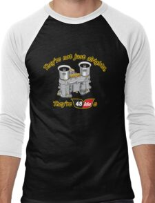 Fun with Carbs Men's Baseball ¾ T-Shirt