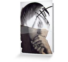 Blind faith Greeting Card